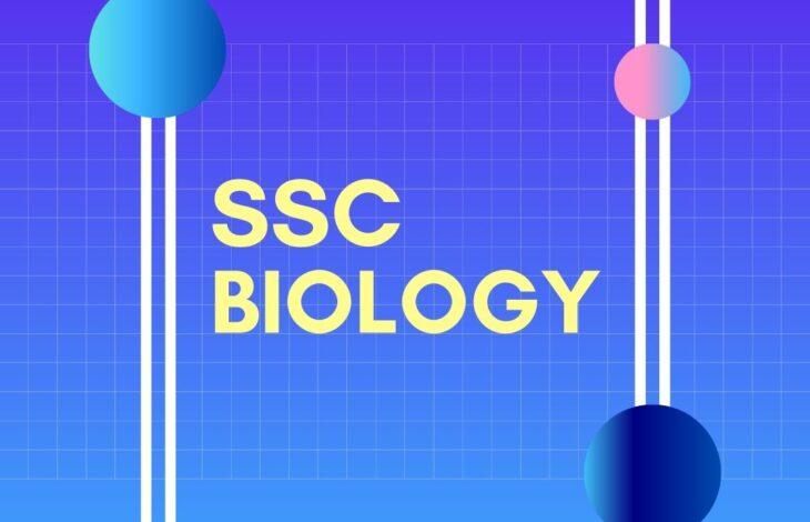 Biology | Chapter 1-11 | SSC